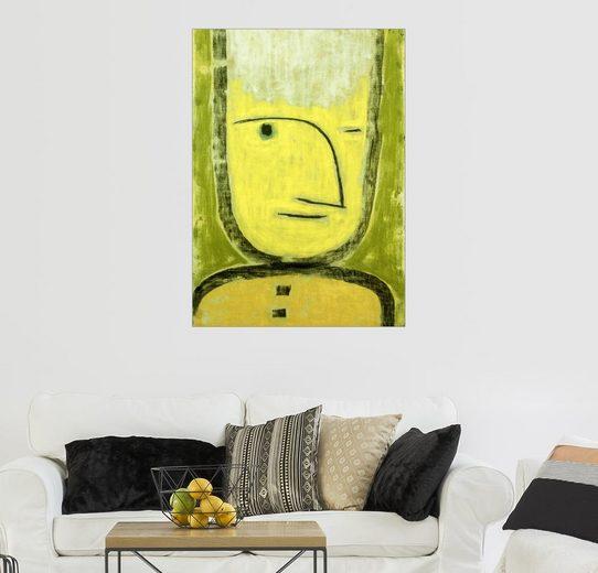 Posterlounge Wandbild - Paul Klee »Der Gelb-Grüne«
