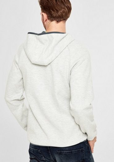 s.Oliver RED LABEL Sportiver Sweat-Hoodie mit Kapuze