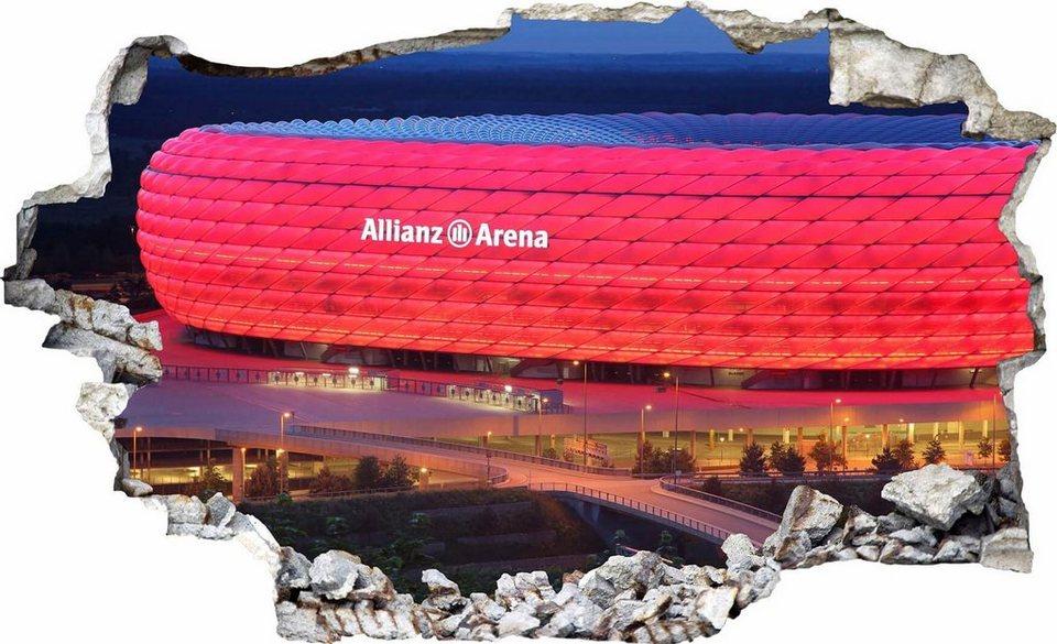 Wandtattoo Motiv Fcb Allianz Arena Online Kaufen Otto
