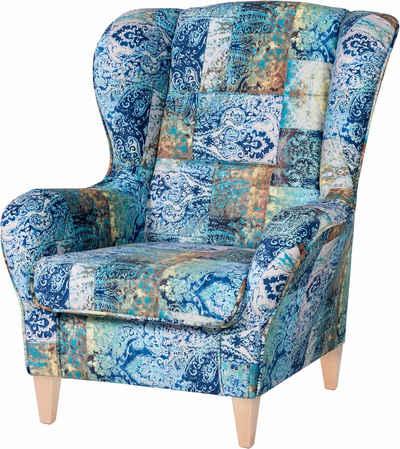 Sessel In Blau Online Kaufen Turkis Hellblau Otto