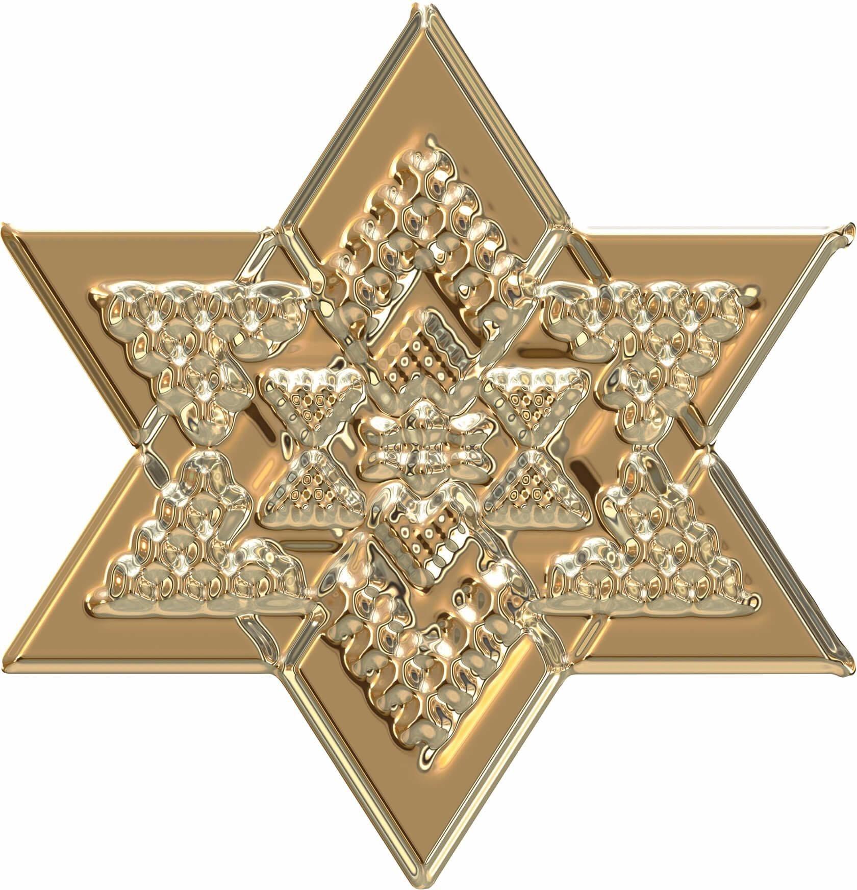 Wandtattoo »Metallic Star Gold«, in 3 Größen   Dekoration > Wandtattoos > Wandtattoos