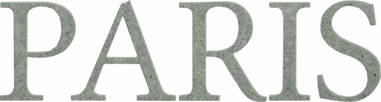 MDF Holzbuchstaben »Paris«, 60/15 cm