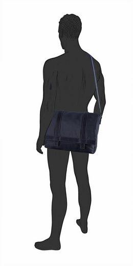 Tom Tailor Messenger Bag CAMERON, mit gepolstertem Tabletfach