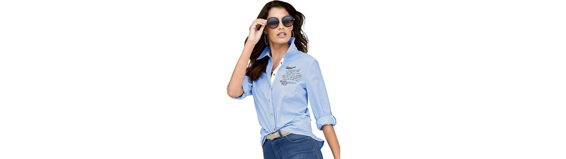 Freie Verschiffen-Angebote Classic Inspirationen Bluse mit modischem Druck- und Stickerei-Motiv Billig Verkaufen Hochwertige Billige Websites Outlet Kollektionen sIySyfs0