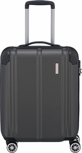 travelite Hartschalen-Trolley »City, 55cm«, 4 Rollen