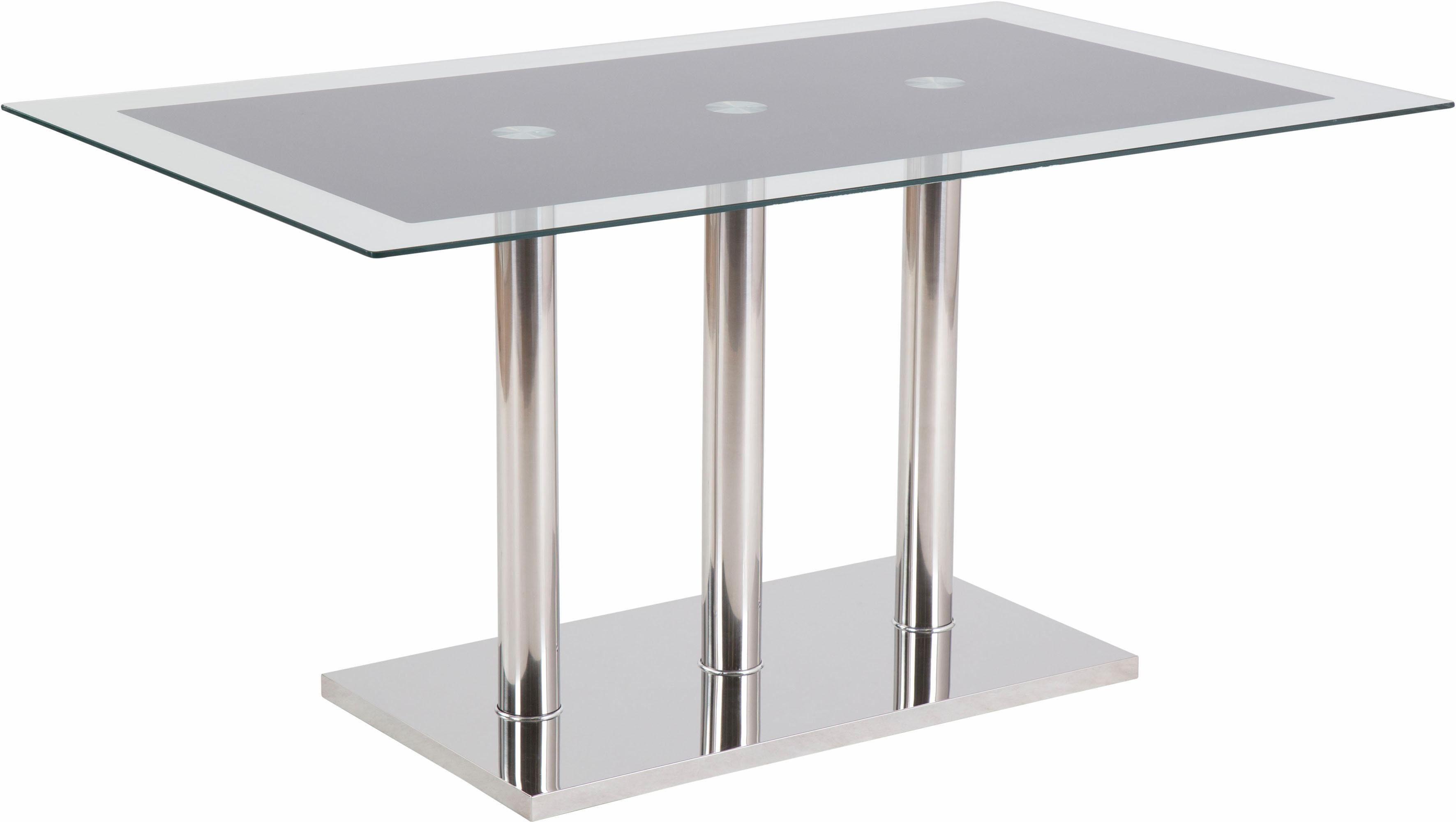 Säulen-Esstisch, Breite 150 cm