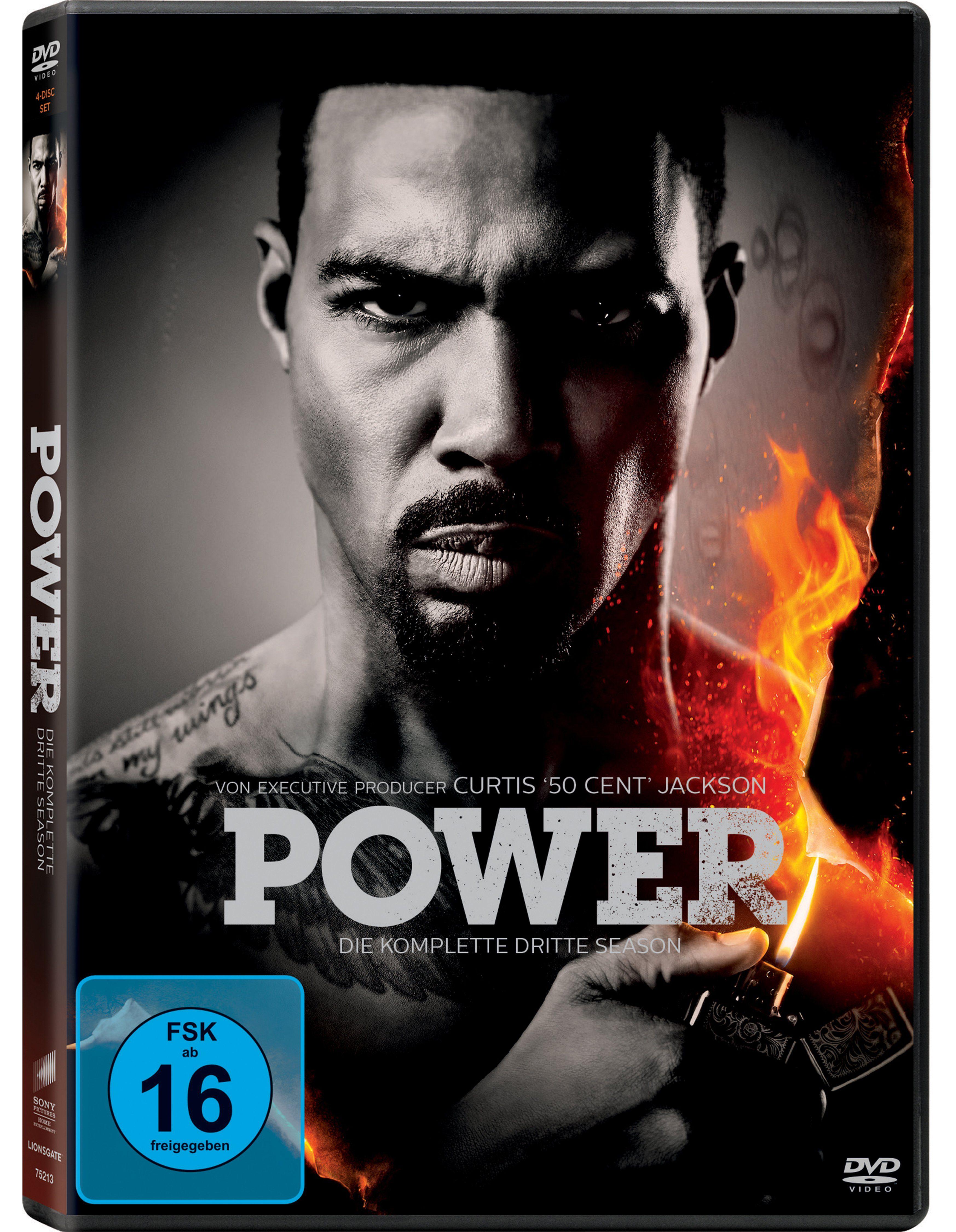 Sony Pictures DVD »Power - Die komplette 3. Season (4-Discs)«