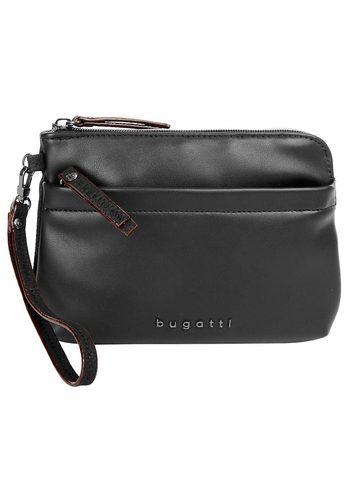 Damen Bugatti Abendtasche SENSO RFID, RFID-Schutz schwarz | 04250060349298