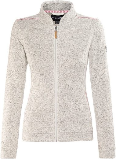 High Colorado Outdoorjacke Zita Strickfleeceblouson Damen