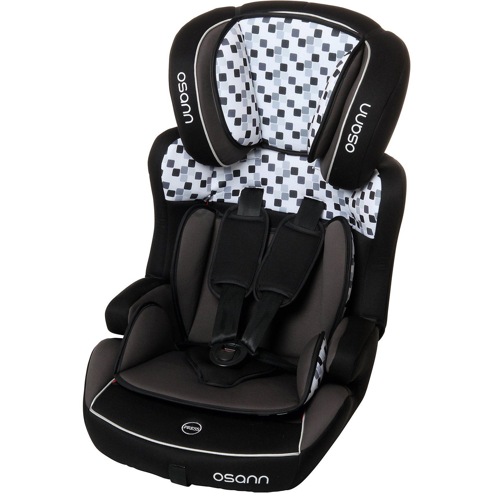 Osann Auto-Kindersitz Lupo Isofix, Cube Black, 2018