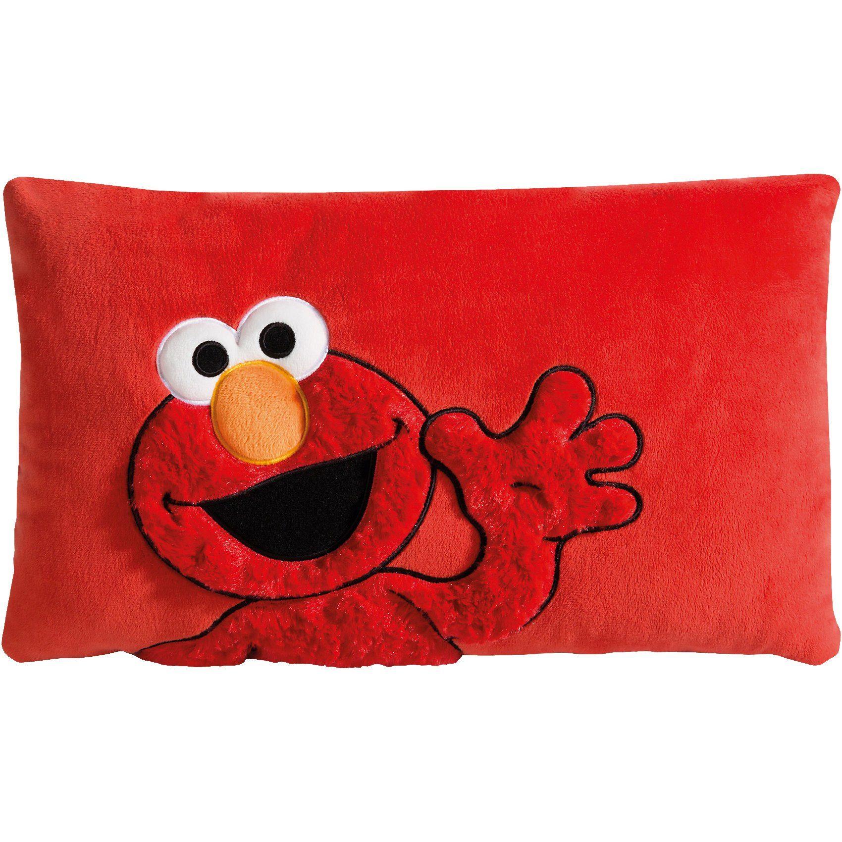 Kissen Elmo rechteckig, 43 x 25 cm (41354)