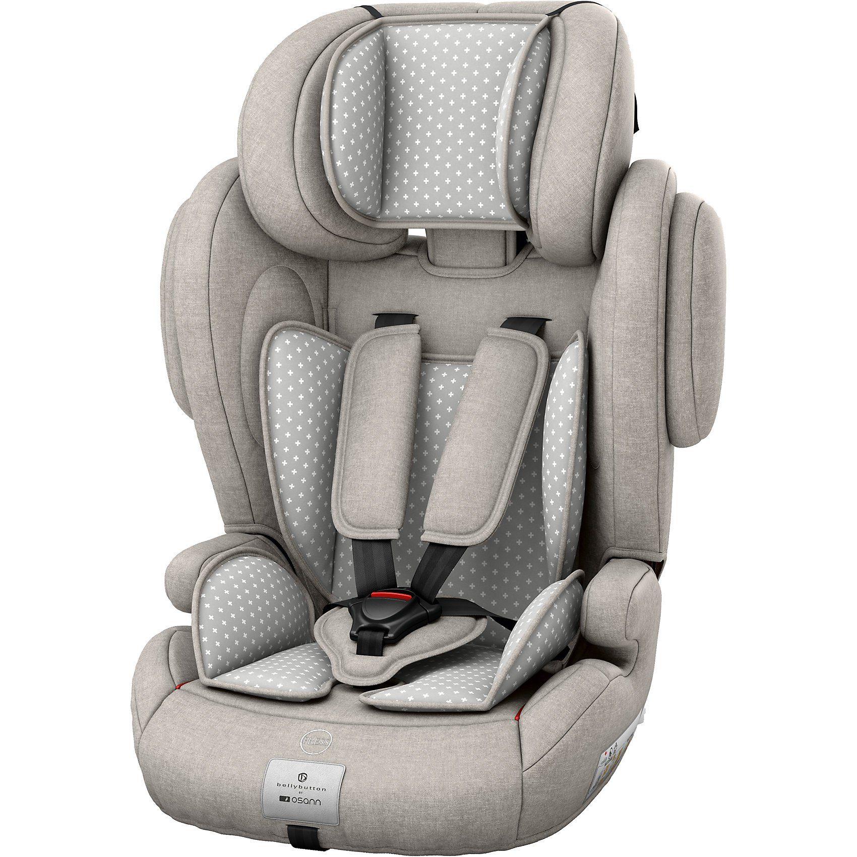 Osann Auto-Kindersitz Flux Plus, bellybutton, Silver Cloud, 2018