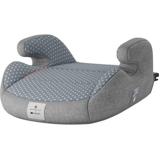 Osann Sitzerhöhung Junior Isofix, bellybutton, Steel Grey