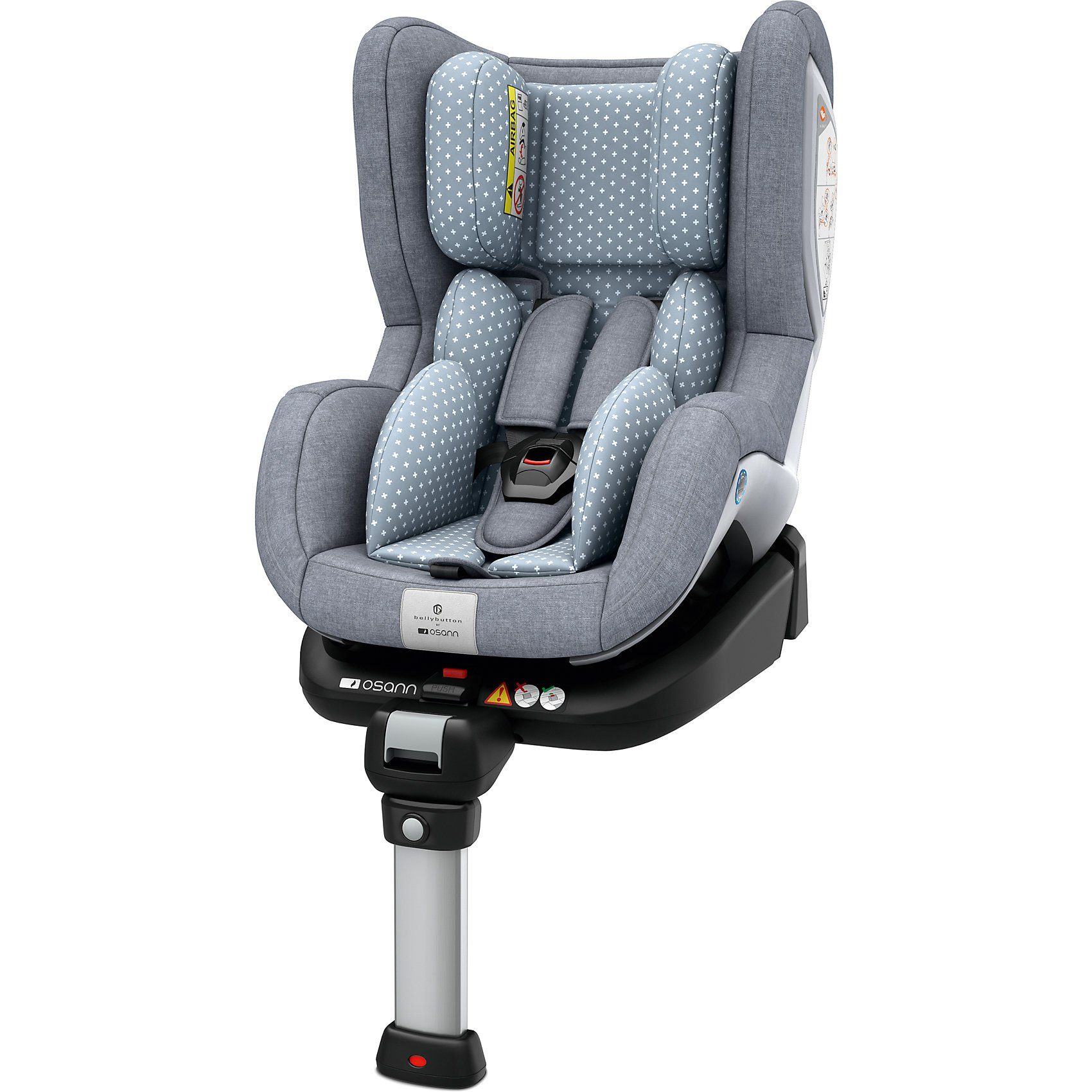 Osann Auto-Kindersitz Fox, bellybutton, Flint Stone, 2018