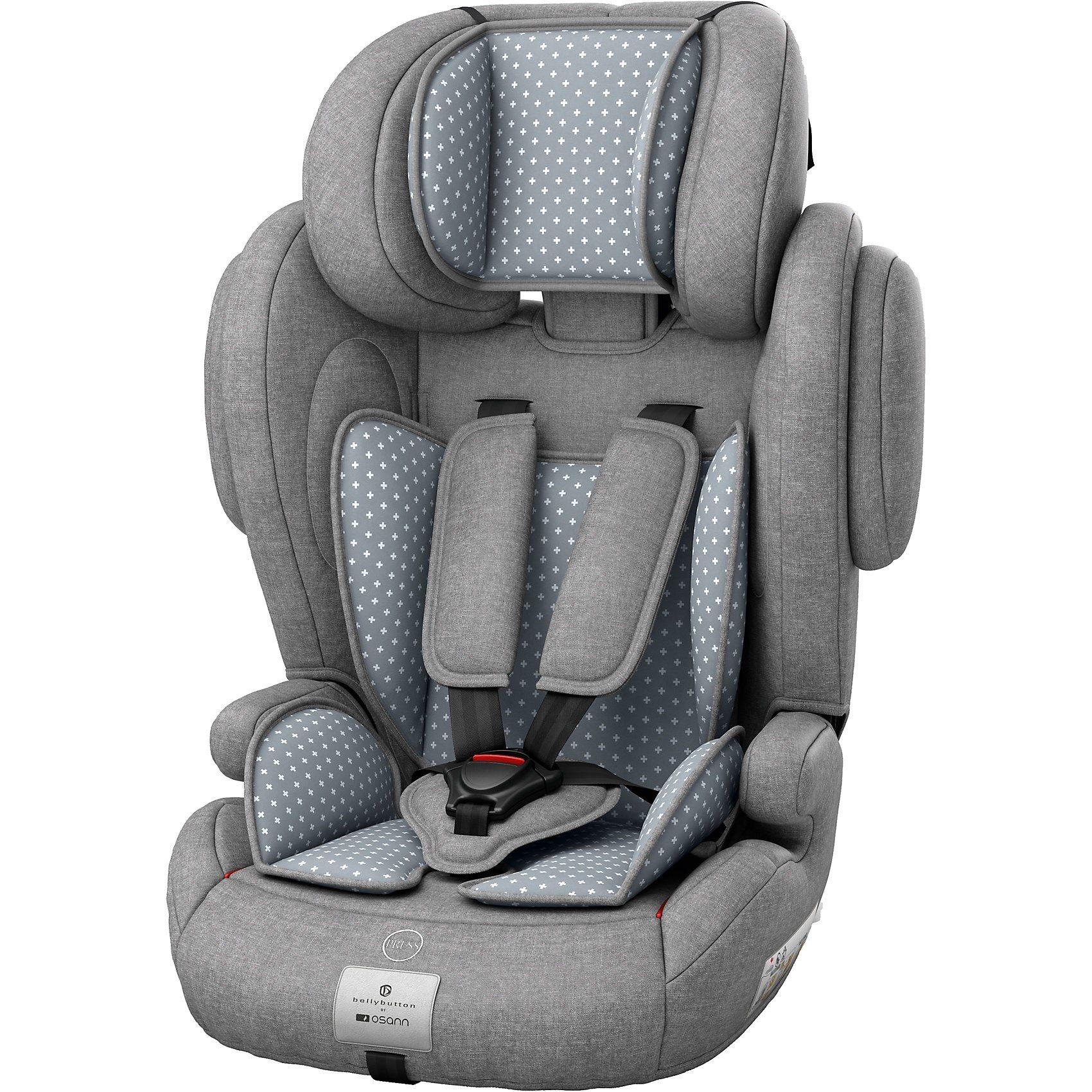 Osann Auto-Kindersitz Flux Plus, bellybutton, Steel Grey, 2018
