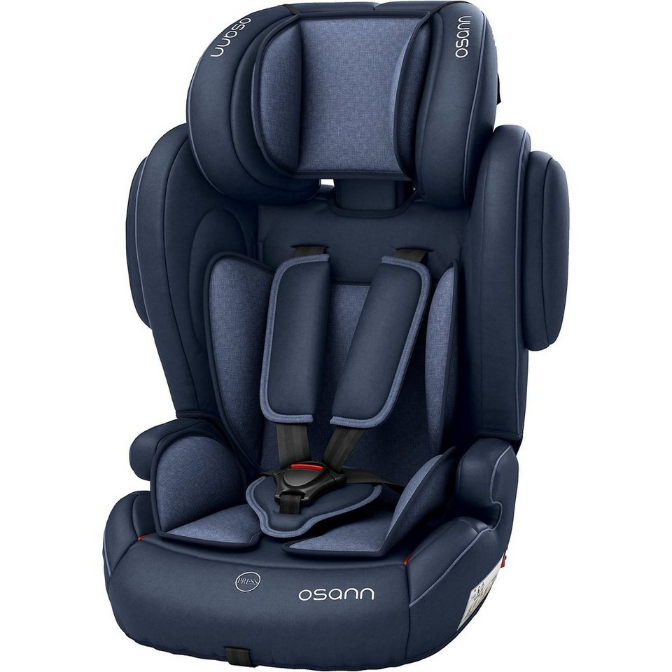 osann auto kindersitz flux isofix navy melange 2018. Black Bedroom Furniture Sets. Home Design Ideas