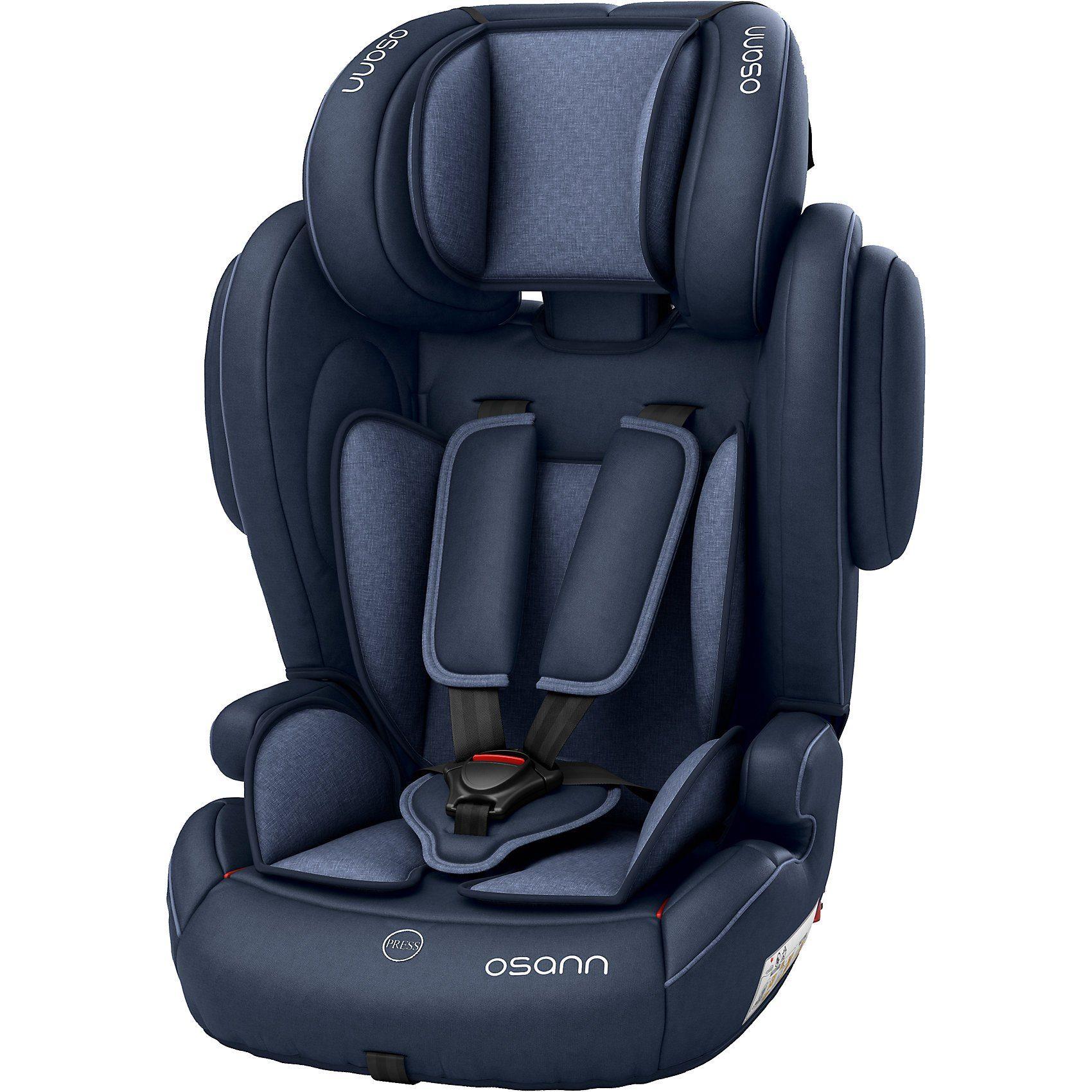 Osann Auto-Kindersitz Flux Isofix, Navy Melange, 2018