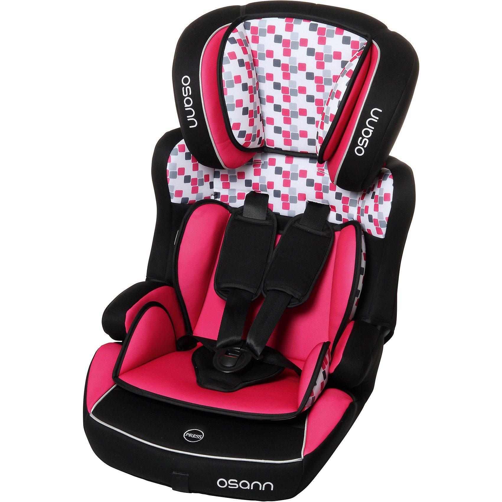 Osann Auto-Kindersitz Lupo Isofix, Cube Pink, 2018
