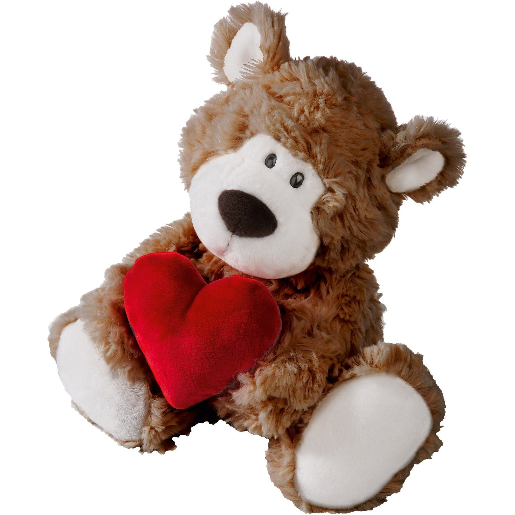 Bär braun mit Herz, 22 cm (41278)