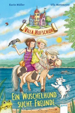 Gebundenes Buch »Ein Wuschelhund sucht Freunde / Villa Hufschuh...«
