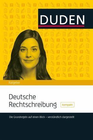 Broschiertes Buch »DUDEN - Deutsche Rechtschreibung kompakt«