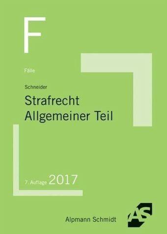 Broschiertes Buch »Fälle Strafrecht Allgemeiner Teil«