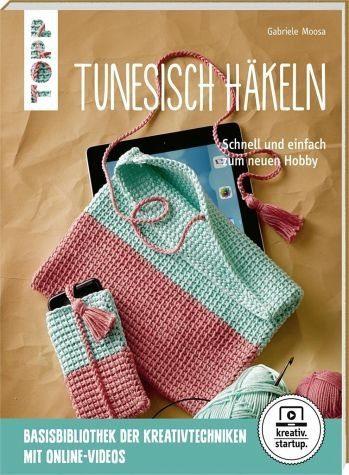 Broschiertes Buch »Tunesisch häkeln (kreativ.startup)«