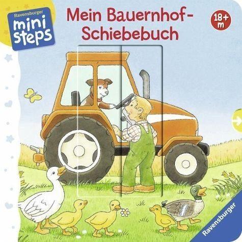 Buch mit Papp-Einband »Mein Bauernhof-Schiebebuch«