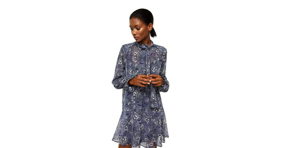 Günstigsten Preis Zu Verkaufen Manchester Zum Verkauf MANGO Bedrucktes Kleid mit Taillenband Billig 2018 Unisex Verkauf Online-Shop 2Eq4c