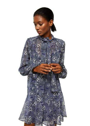 MANGO Bedrucktes Kleid mit Taillenband