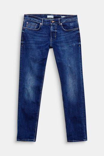 ESPRIT Stretch-Jeans mit leichter Used-Waschung