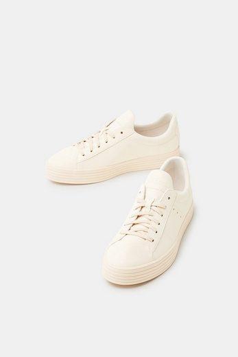 ESPRIT Glitter-Sneaker aus veganer Produktion