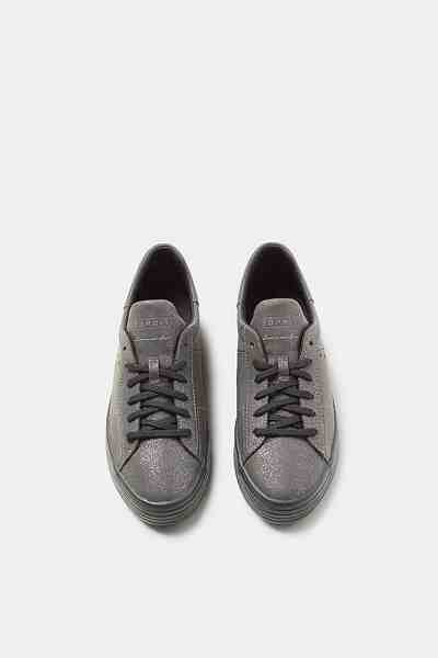 ESPRIT CASUAL Glitter-Sneaker aus veganer Produktion