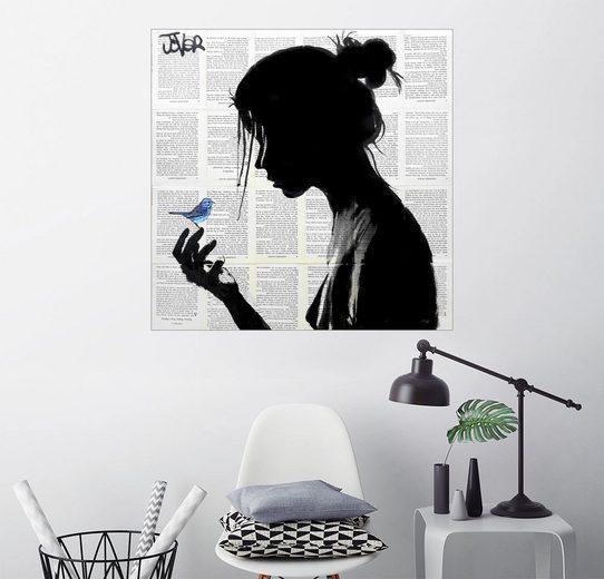 Posterlounge Wandbild - Loui Jover »blue note«