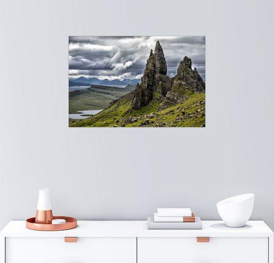 Posterlounge Wandbild - Walter Quirtmair »Old Man of Storr, Isle of Skye, Schottland«