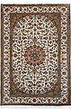 Seidenteppich »Kashan 11998«, Kayoom, rechteckig, Höhe 10 mm, Einzelstück mit Zertifikat, Wohnzimmer, Bild 2