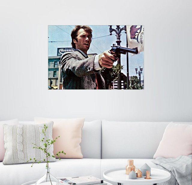 Posterlounge Wandbild »Clint Eastwood in Dirty Harry« | Dekoration > Bilder und Rahmen > Bilder | Posterlounge