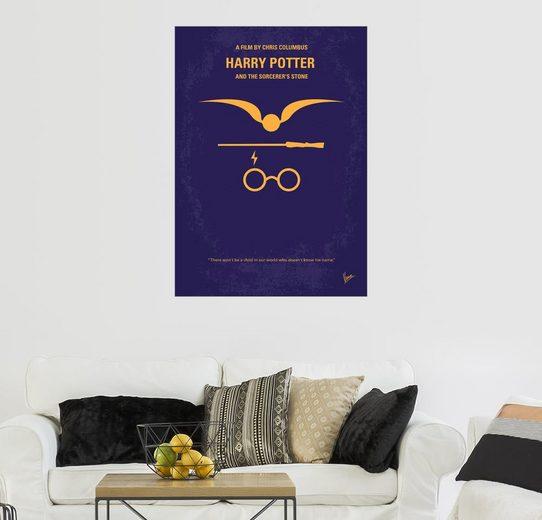 Posterlounge Wandbild - chungkong »No101 My Harry Potter minimal movie poster«