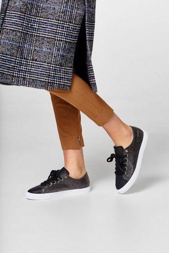 ESPRIT Metallic-Sneaker mit Stern-Print