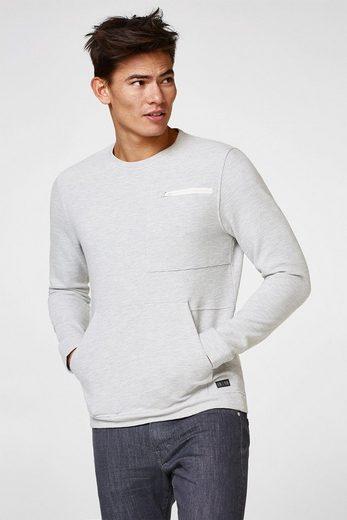 Structure Stripe Sweatshirt With Edc By Esprit