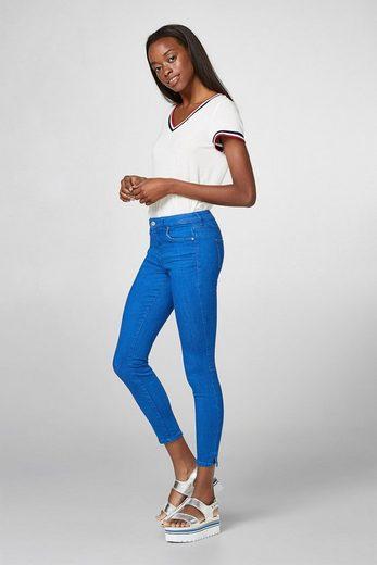 ESPRIT Modisch verkürzte Stretch-Jeans