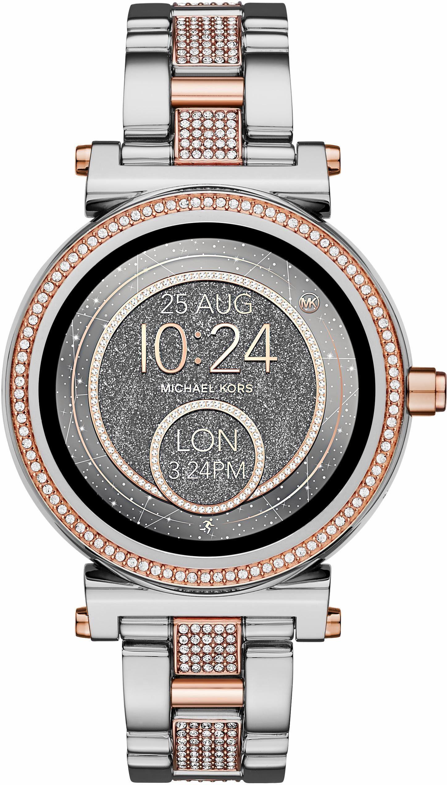 MICHAEL KORS ACCESS SOFIE, MKT5040 Smartwatch (Android Wear, inkl. Dornschließe für Wechselband)