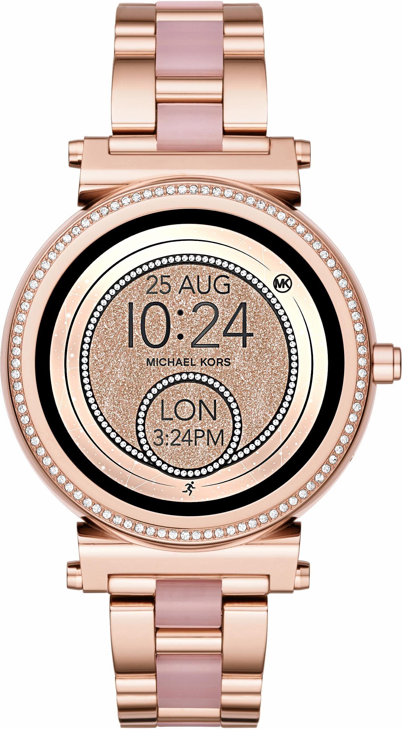 MICHAEL KORS ACCESS SOFIE, MKT5041 Smartwatch (Android Wear, inkl. Dornschließe für Wechselband)