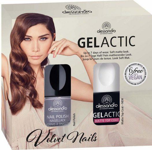 alessandro international Nagellack-Set »Gelactic Velvet Set Stay with me«, 2-tlg.