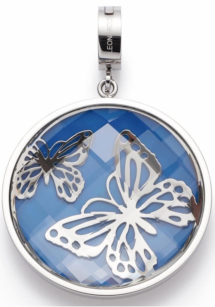 LEONARDO Charm Schmetterling »Ilaria Darlin's, 016551« mit Glasstein