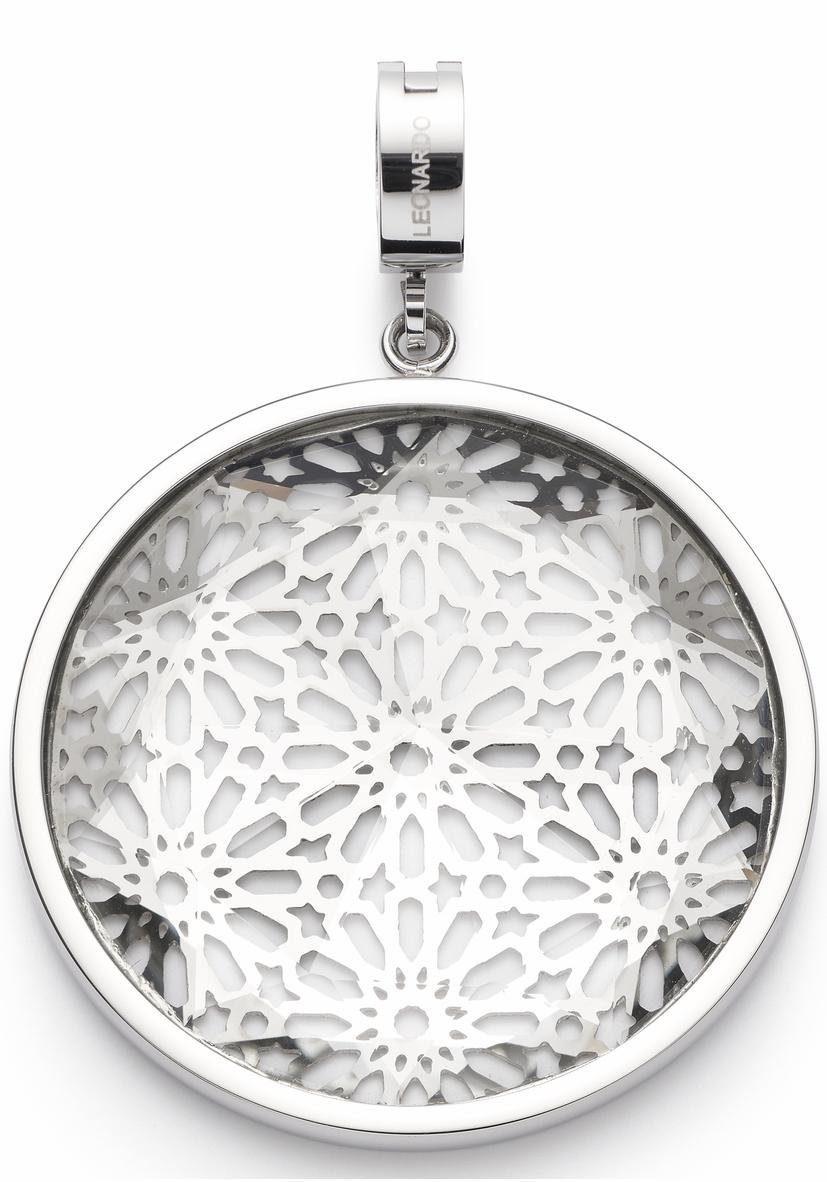 LEONARDO Charm-Einhänger »Ginerva Darlin's, 016541« mit Glasstein