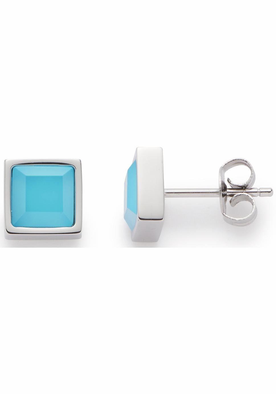 LEONARDO Paar Ohrstecker »Ponte, 016500« mit Glassteinen