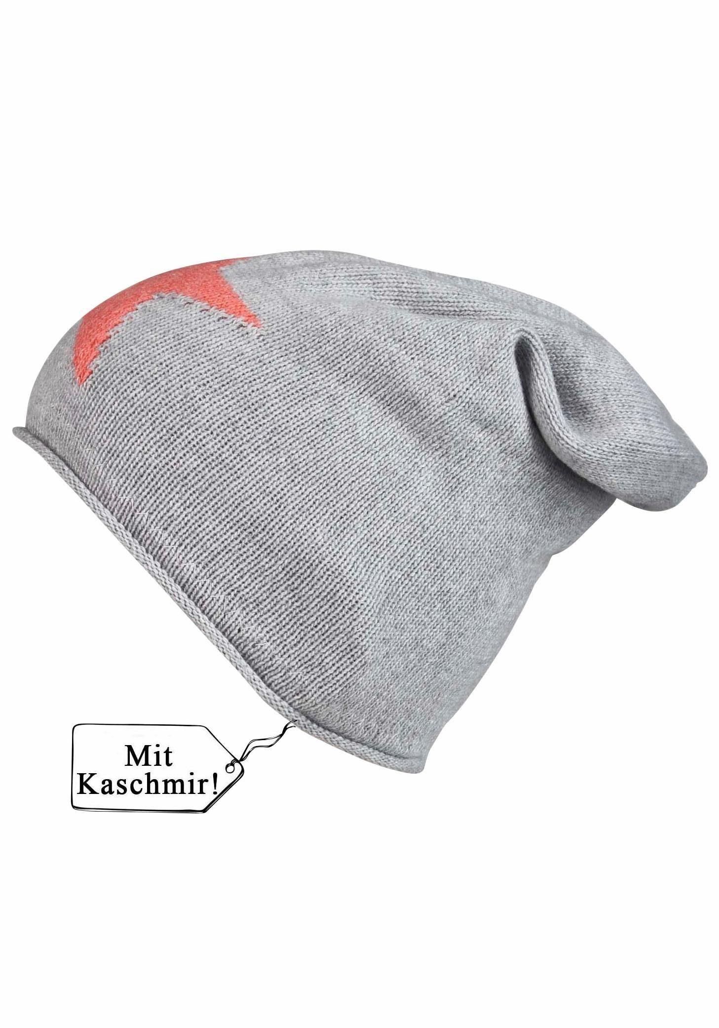 """Zwillingsherz Strickmütze, """"Sternlein"""", Oversize"""