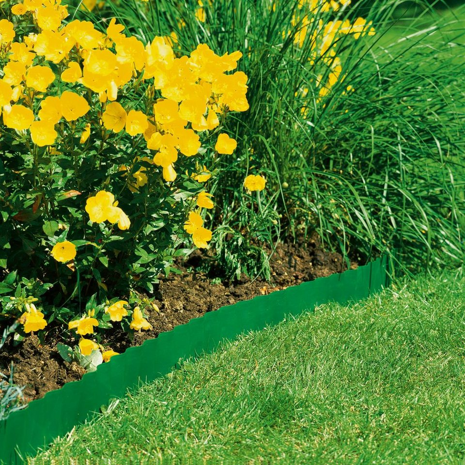 Gardena raseneinfassung gr n h he 15 cm kaufen otto for Gunstige gartendekoration