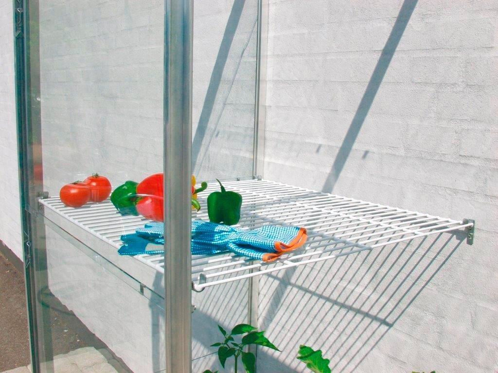 VITAVIA Wandregal , Drahtregal-Set für Anlehn-Gewächshaus | Garten > Gewächshäuser | Vitavia